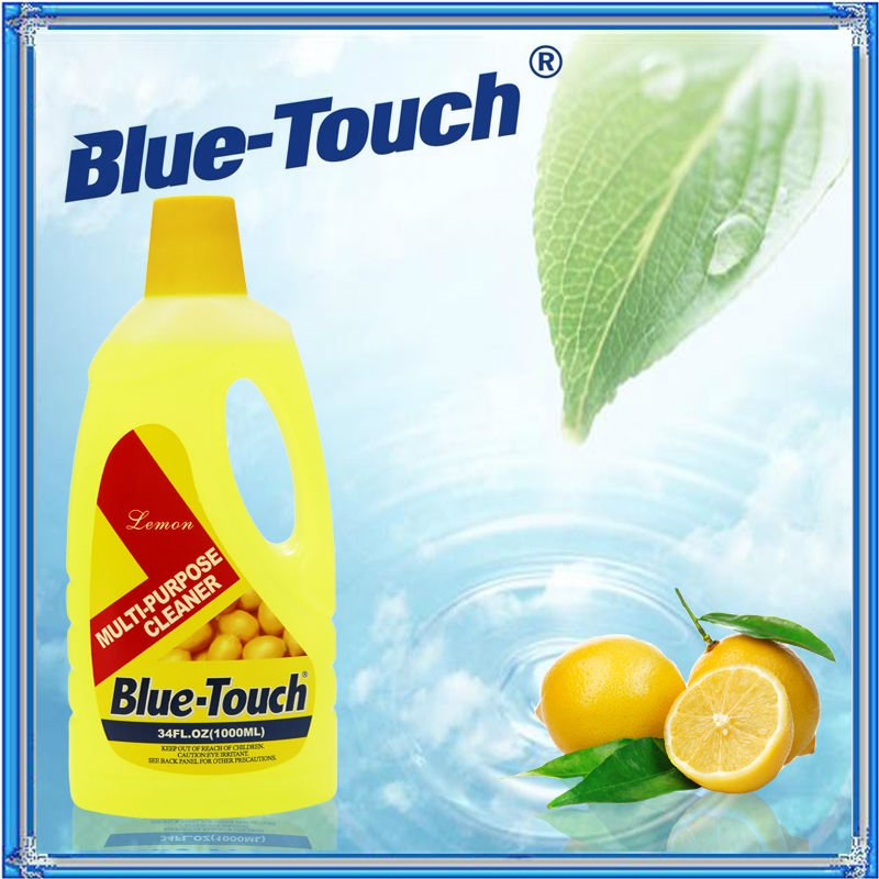 Blue-Touch Clean Day All Functional Cleaner, Lemon Lavender, 34Ounce Bottle-Pack of 12