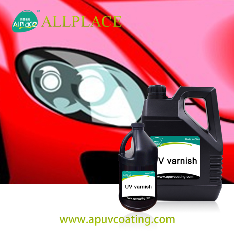 Uv Coating for Car Headlight Restoration Polish Spray Paint from Allplace Factory