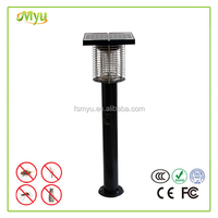 wholesale light operated Garden solar power insect trap mosquito kill lamp