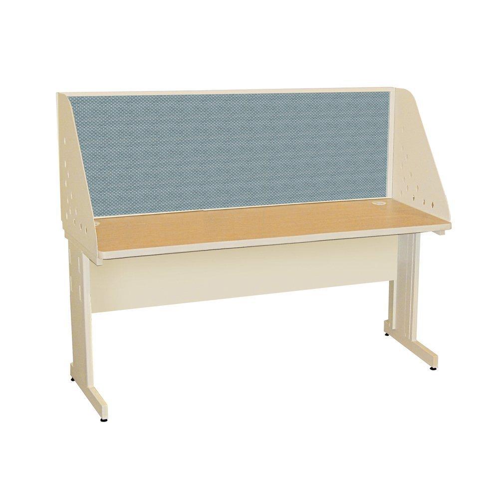 42 W x 30 D Fabric Color Beryl Pronto Training Table Finish Oak Laminate//Pumice Finish Size