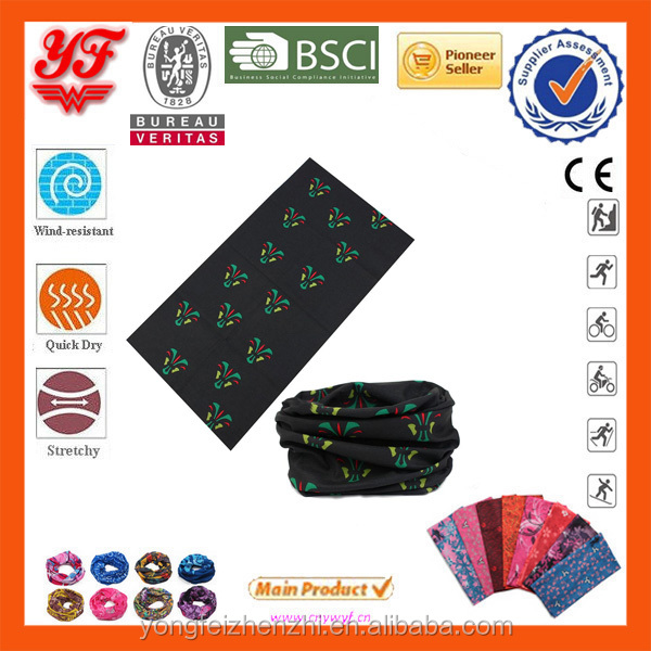8 in 1 Multifunctional Soft stretch seamless tube bandanas knitted neck warmer headband