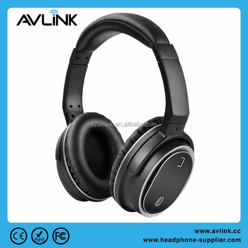 Wireless Bluetooth Stereo V4.1 Active Noise Cancelling Headphones ...