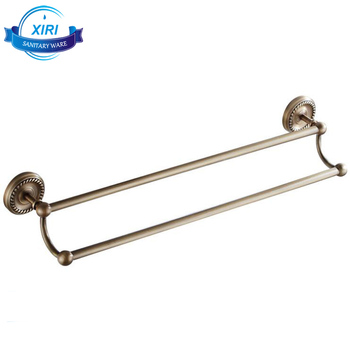 antique brass double towel bars for sale engraved wall mount towel