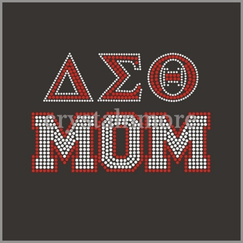 Delta Sigma Theta Mom Rhinestone Transfers For T Shirts - Buy Delta Sigma  Theta Rhinestone Transfer,Delta Mom Rhinestone Transfer,Rhinestone T Shirt
