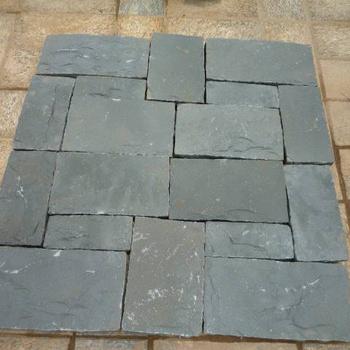 Chinese Natuursteen Tegels.Goedkope Chinese Steen Zwart Basalt Natuursteen Voor Zwembad Tegel