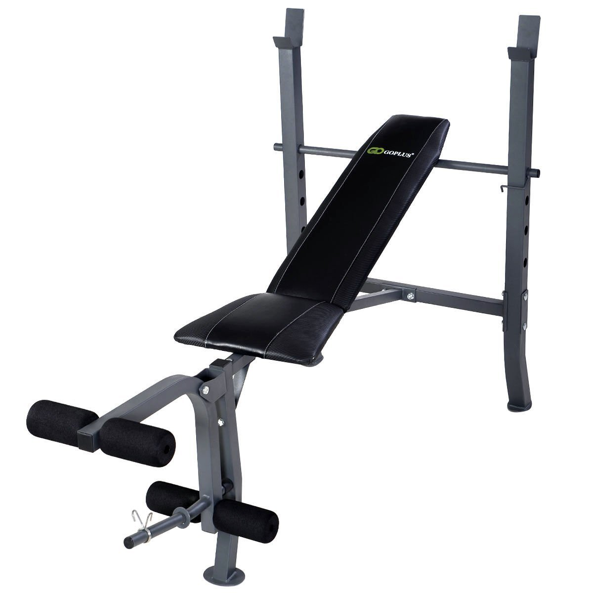 Get Quotations · Gracelove Adjustable Weight Lift Flat Incline Bench Fitness  Body Strength Workout