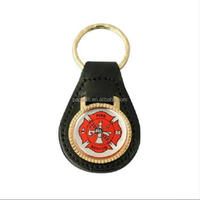 Customized Fire Department Rescue Fireman Firefighter Maltese Cross Badge