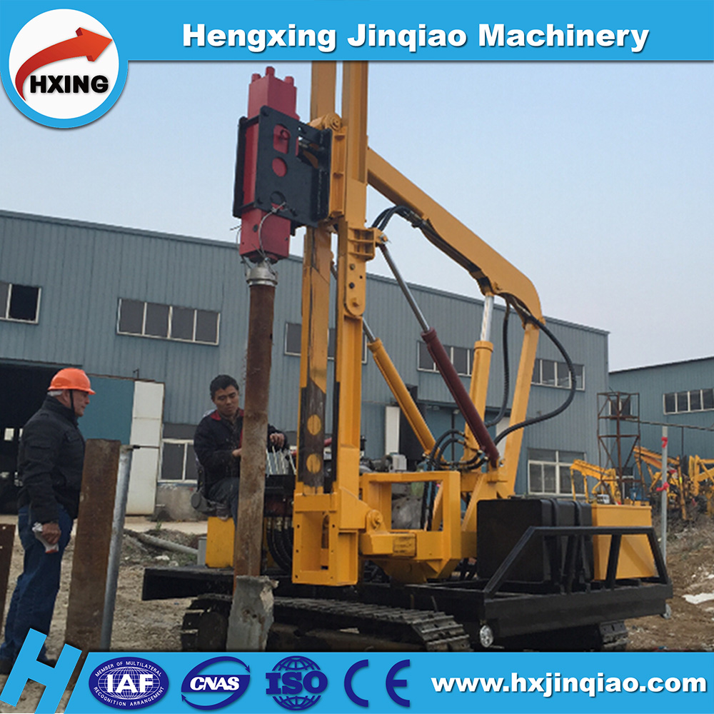China Supplier Solar Piling Rig For Photovoltaic Cells