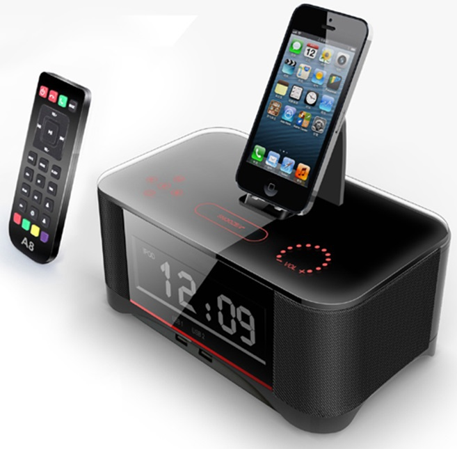 popular apple iphone docking station with speakers buy. Black Bedroom Furniture Sets. Home Design Ideas