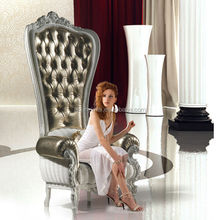 XYM furniture mordern king throne chair made in China