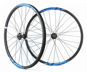 cheap mtb parts mtb wheels 29 disc hub 24-32hole QR9 quick release mtb enduro carbon wheel OEM china Carbon Mountain Bike wheel