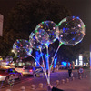 Lipan-Wholesale 18 Inch Round Flying Led Bobo Clear Balloons Transparent Toy Balloon Party Wedding Decoration Birthday Balloons