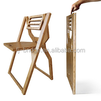 Bamboo Folding Chair To Become One