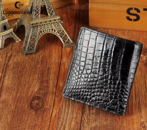 2017 new trend genuine crocodile leather fashion men wallet