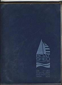 Boat Shed Restaurant Menu Shore Drive in Bremerton Washington 1980