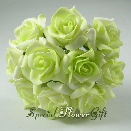 Mousse Rose Fleur Artificielle Fleur De Papier La Saint Valentin