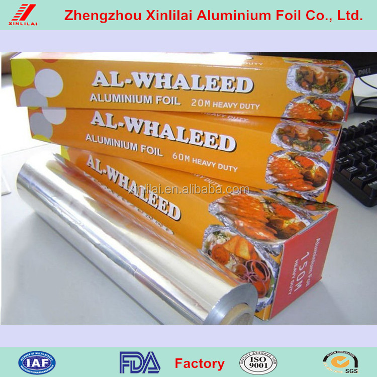 holiday aluminum foil with cutting blade importers