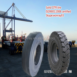 Well reputed tyre manufacturer wonray off road truck tyres 10.00-20 forklift solid tire, spec wheel 10.00-20