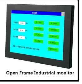 Fanless 15 Inch All In One Touch Screen PC Square 15Inch Touch Monitor With Industrial Panel