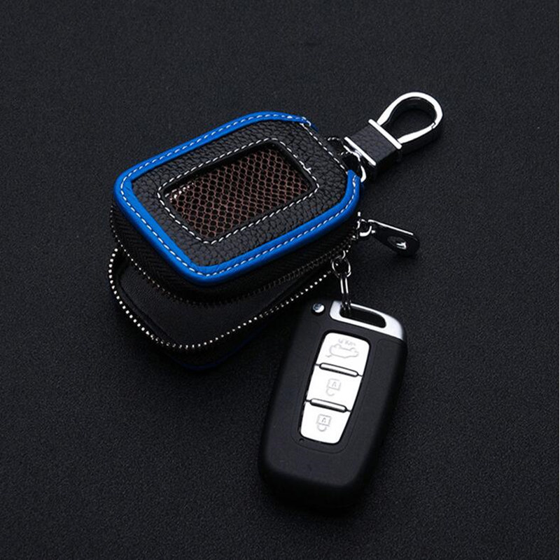 <strong>genuine</strong> <strong>leather</strong> skylight design car key wallet