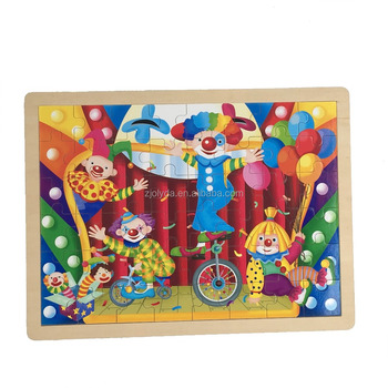 Happy Circus Wooden Clown 2d Puzzle Buy Wooden 2d Puzzlewooden Clown 2d Puzzlecircus Wooden Clown 2d Puzzle Product On Alibabacom