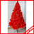hot sale color pine needle red christmas tree