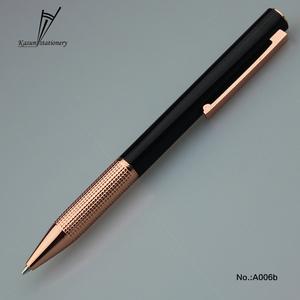 High Premium Rose Gold Pen Luxury Pen Metal BallPen Logo Pen for Office GIft