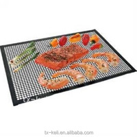 Non-stick Grill Mat -ptfe Coated Fiberglass,Safe For Food - Buy ...