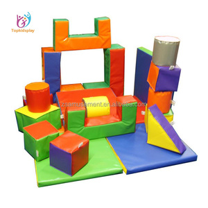 Children's indoor wooden and plastic Soft play games for house