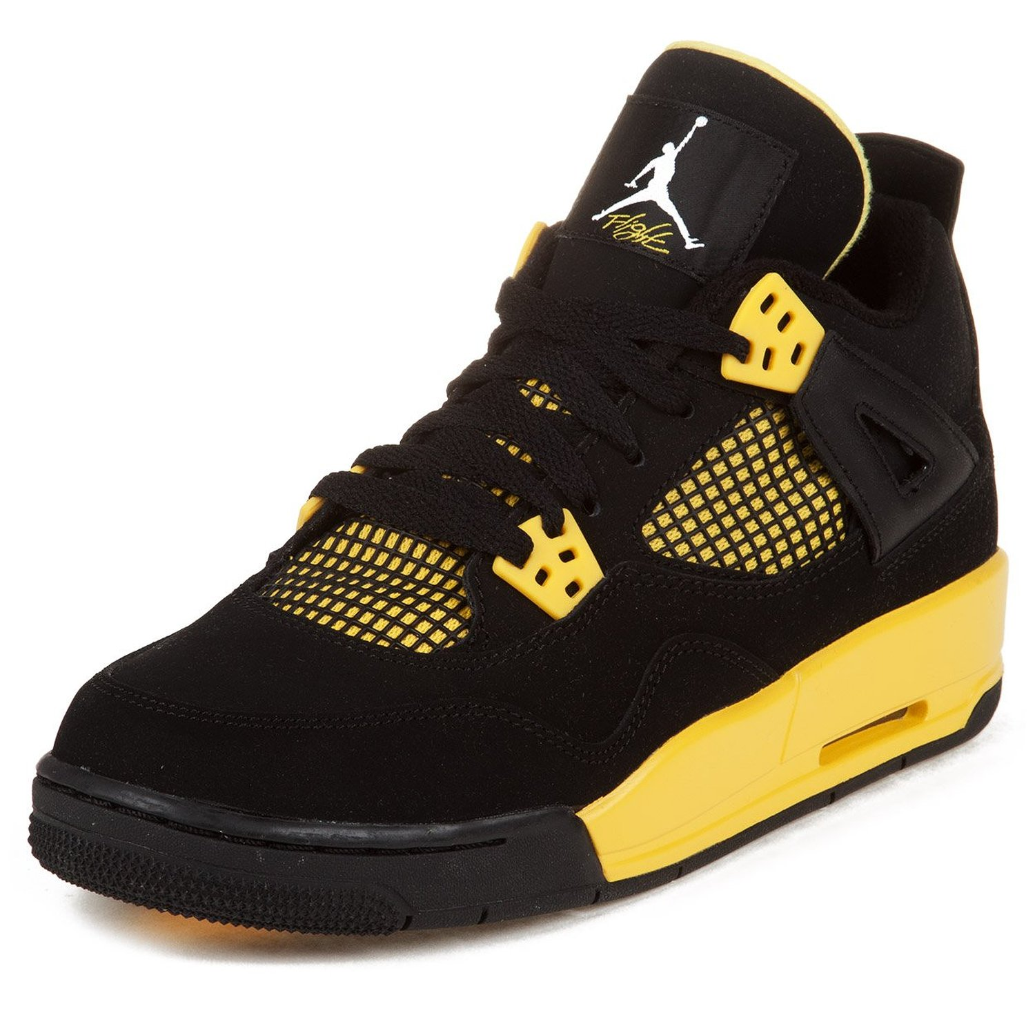 c000e31d70eb04 Get Quotations · AIR JORDAN 4 RETRO (GS)  THUNDER  - 408452-008