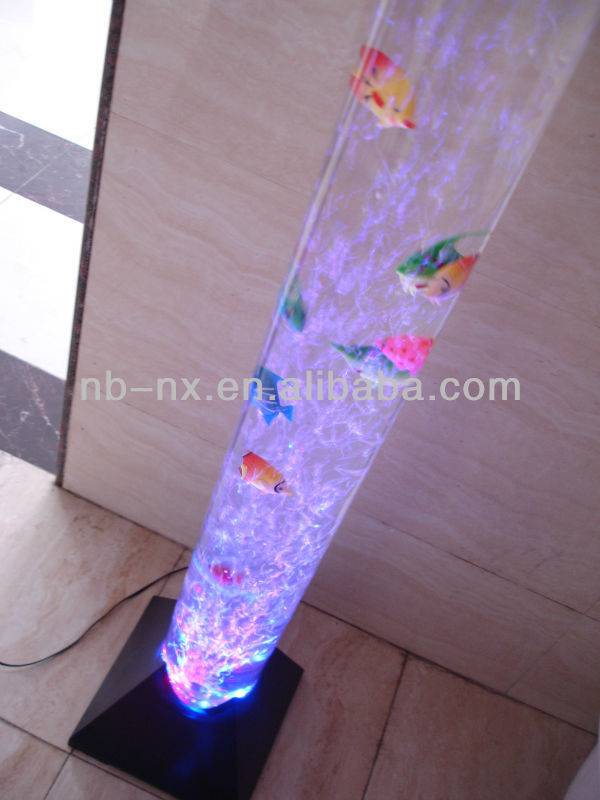 1meter large led bubble fish lamp,novelty light,sensory special, Reel Combo