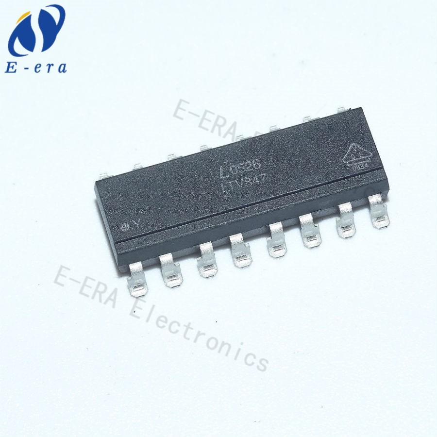 Circuito Optoacoplador : Circuito integrado ic ltv847 pc847 sop16 smd optoacoplador buy