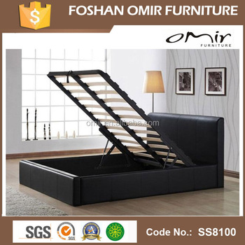 strong stand lift up storage bed frame ss8100