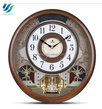Factory Custom Modern Wall Clock And Plastic Cuckoo Clock For Gift