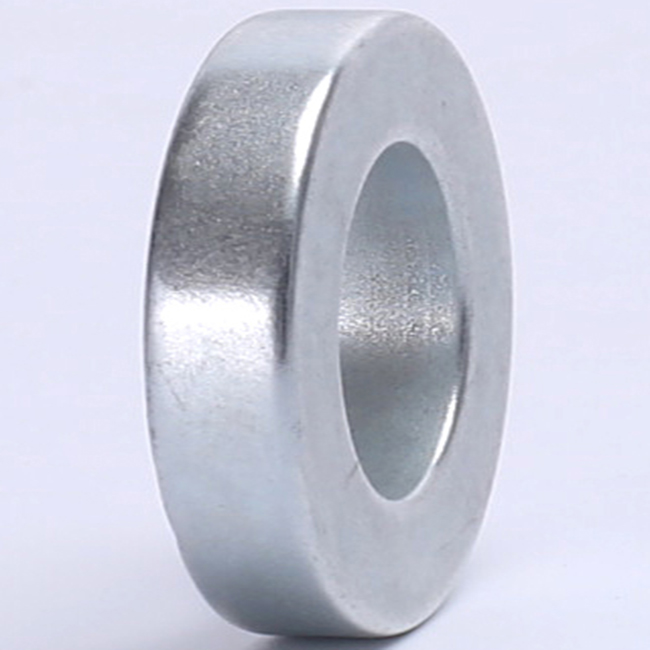 25x8mm with 5mm hole Wholesale axial magnetized ring neodymium magnets N35 Sintered Ring shaped Magnets price