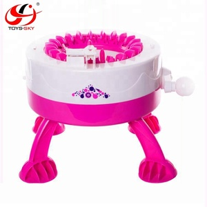 Girls weaver dreams Intelligence singer knitting machine Hand Automatic DIY Kids Knitted Machine Handmade Toys