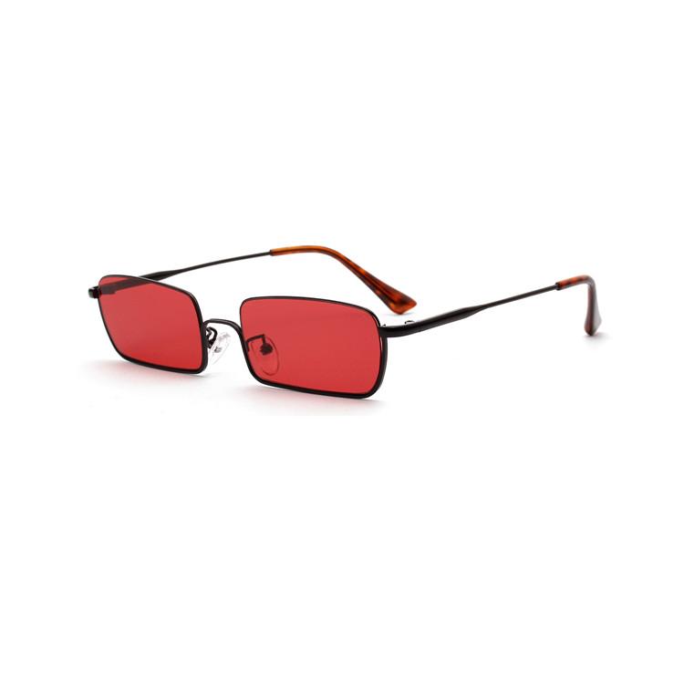 High fashion small square sunglasses men women фото