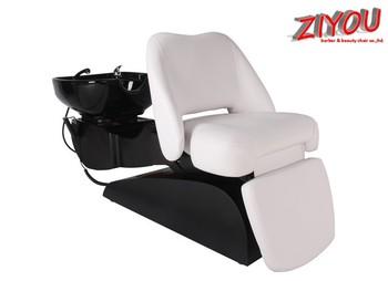 Four Motors Lay Down Washing Salon Shampoo Chair For Sale