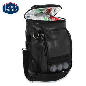 8 Can Pu Leather Caddy Golf Cooler Bag