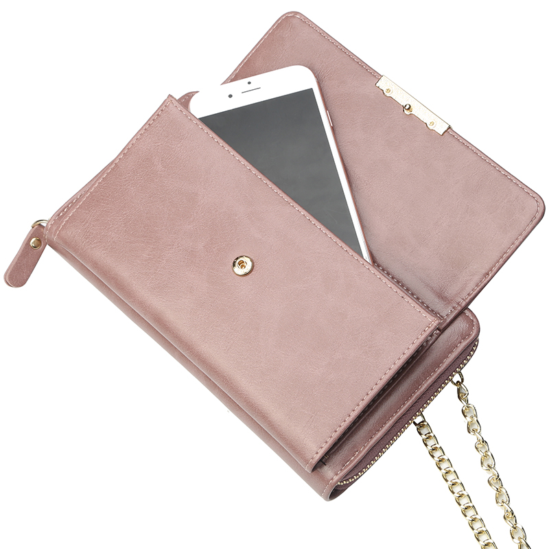 female long jelly pront pocket original type envelope ogon sublimation blank purses handbags custom logo pebble leather wallet