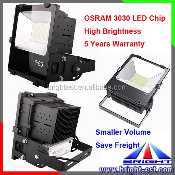 150Lm/w SMD3030 chip led flood light, IP65 outdoor flood spot light, 180W LED Wall washer light