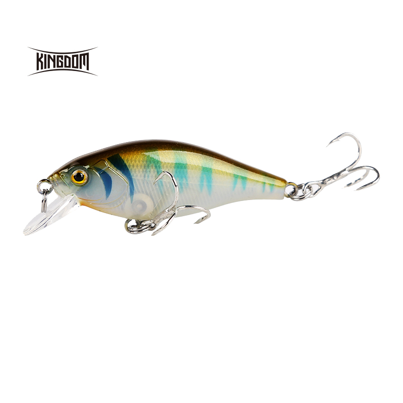 KINGDOM Model 7501 Fishing Lures Sinking Minnow Bait  6.5g Wobbler Hard Plastic Bait Outdoor Fishing Lure, Various