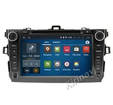 Kirinavi WC-TC8762 android 5.1 araba radyo toyota corolla 2006-2011 için car dvd player gps navigasyon stereo multimedya WIFI 3G