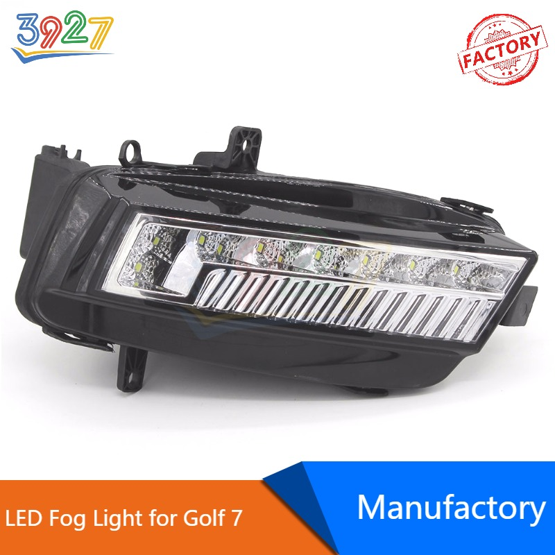 Auto Car Front Bumper LED Fog Lamp / Light Assembly for VW Golf 7 / MK7 2013 - 2016