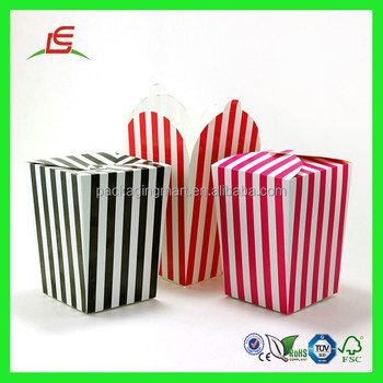 Q908 Wholesale New Packing Box Foldable Cheap Paper Popcorn Box ...