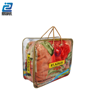 Transparent BedSheet Pvc Bag For Blanket Packing