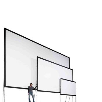200 inches 16 9 wide screen Full Dress kits Front and Rear Projection Fast Fold Screen