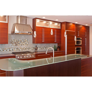 Free samples design Durable kitchen cabinets with pull out shelves