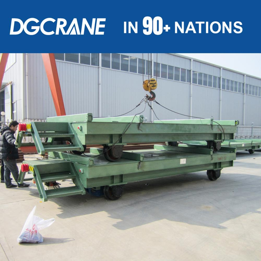 High Speed Steel Coil Transport Trailer For Steel Plant