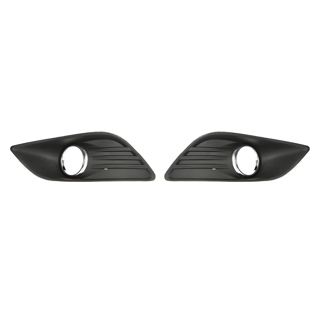 Get Quotations  C B Kkmoon Pair Of Front Fog Light Lamp Cover Grille Replacement For Ford Fiesta